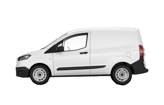 Ford Transit Courier leasingtilbud(Pizzabil)