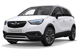 2018 Opel Crossland X Leasing