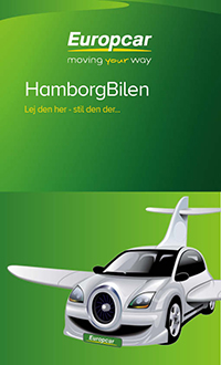 europcar billig lej bil